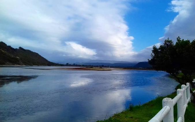 a lagoon view