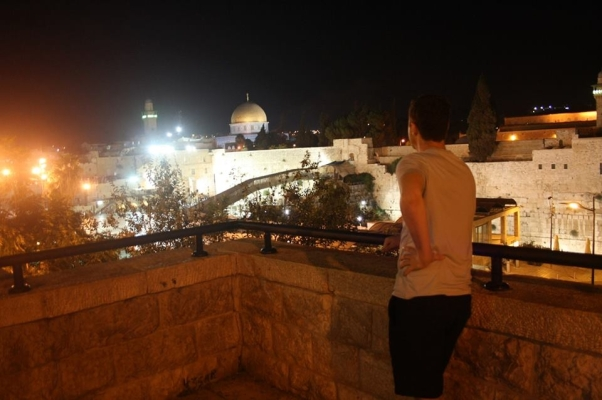 steve in jerusalem