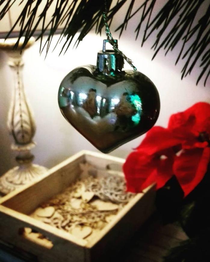 the last glow of Christmas