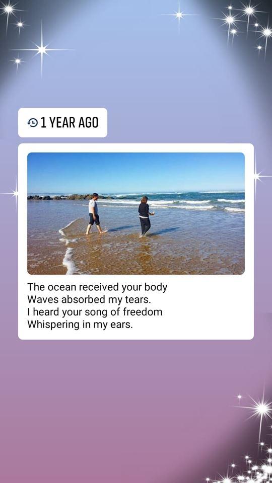 one year ago