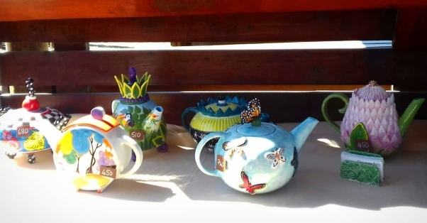 teapots all in a row